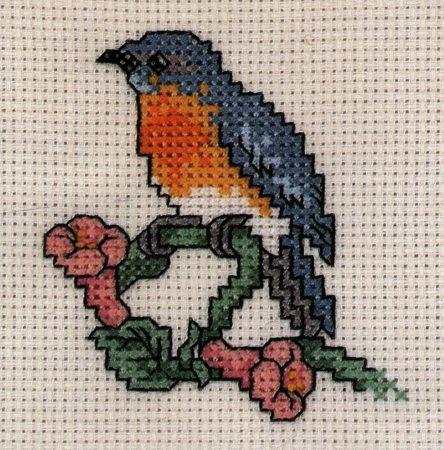 Kolibri - leszámolható keresztszemes készlet