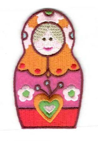 Baba - ruhára vasalható textil matrica