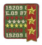 19209 - ruhára vasalható textil matrica