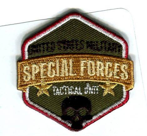 Special Forces - ruhára vasalható textil matrica