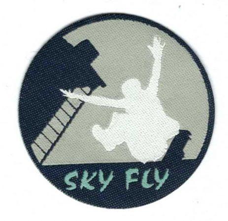 Sky fly - ruhára vasalható textil matrica