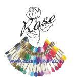 Rosace hímzőfonal Rose