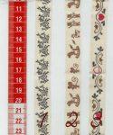 Mintás textil szalag