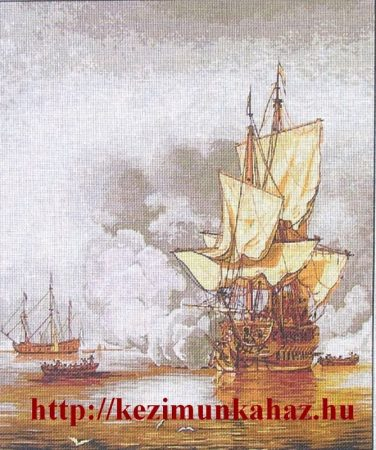 Trafalgar - előnyomott tűgobelin