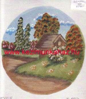 Tanya ősszel - Előfestett gobelin