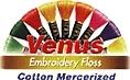 Venus osztott hímző