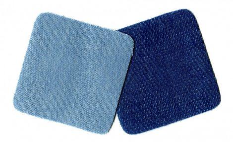 0 farmer négyzet - ruhára vasalható farmer matrica