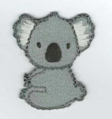 Koala - ruhára vasalható textil matrica