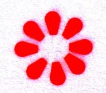 Tűbefűző - piros