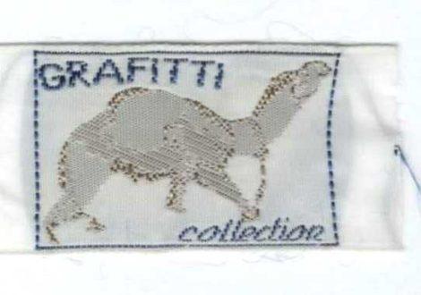 Dromedár - ruhára varrható textil matrica