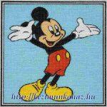 Mickey egér - előnyomott gobelin