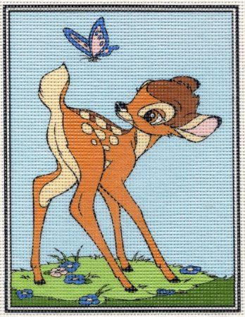 Bambi - előnyomott gobelin