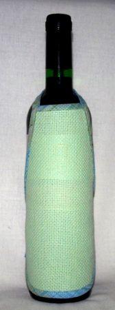 Hímezhető kötény üvegre - Jade Collection