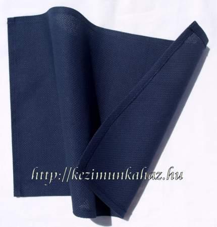 Hímezhető tányér alátét kék sötét