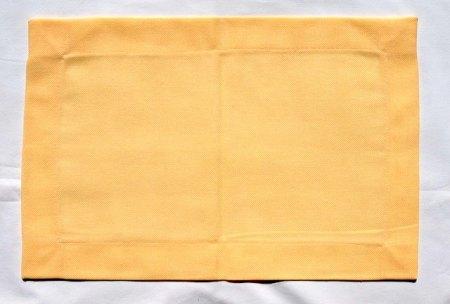 Hímezhető tányér alátét sárga
