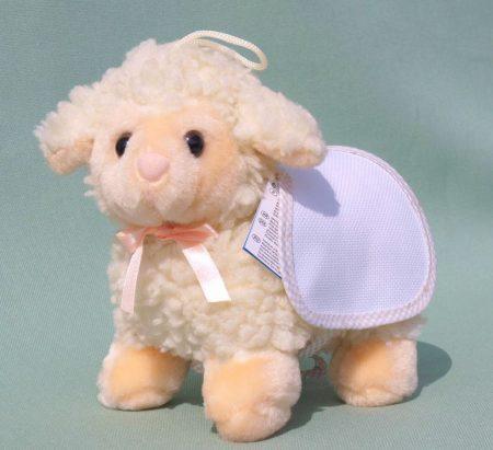 Bárány hímezhető háttakaróval