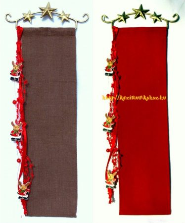 Hímezhető banner készlet - rénszarvas