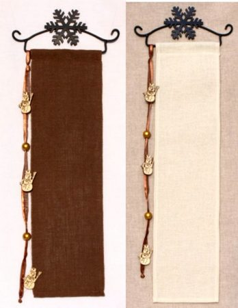 Hímezhető banner készlet - hóember