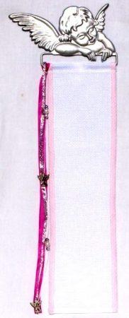 Hímezhető banner készlet - angyal - ezüst