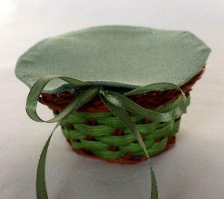 Jade Collection - zöld - kiskosár hatszögletű