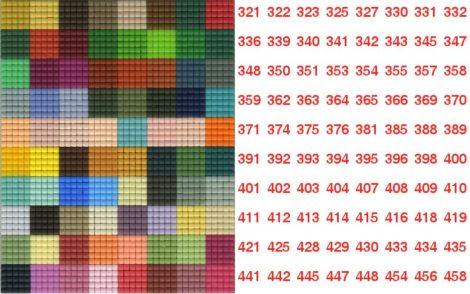 Pixelnégyzetek 321-458-ig - Pixel hobby alaplapra