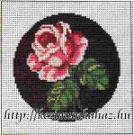 Rózsa 4 - Előnyomott gobelin