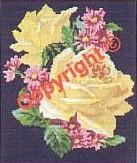 Rózsa - Előnyomott gobelin