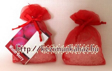 Illatzsákba illatosító szütyő - téli bogyós gyümölcsök