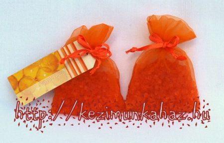 Illatzsákba illatosító szütyő - narancs
