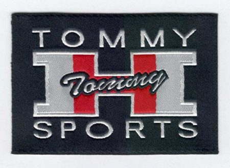 Tommy sports - ruhára vasalható textil matrica