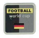 Football world cup - ruhára vasalható textil matrica