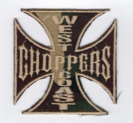 West choppers coast - ruhára vasalható textil matrica
