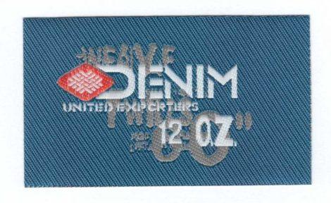 Denim - ruhára vasalható textil matrica