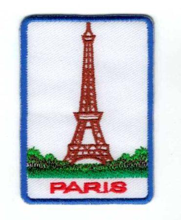 Paris - ruhára vasalható textil matrica
