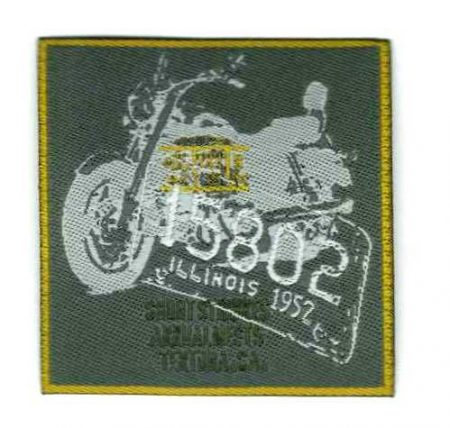Motor - ruhára vasalható textil matrica