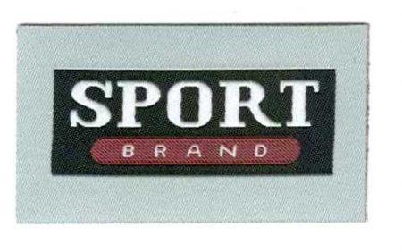 Sport brand - ruhára vasalható textil matrica