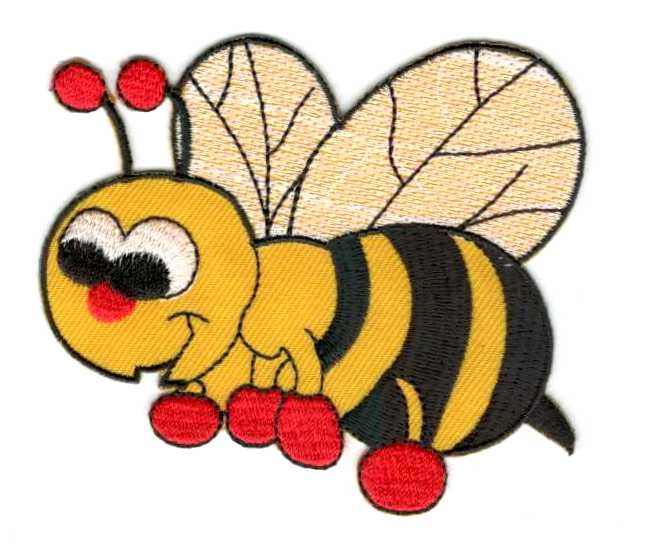 c5654bb020 Méhecske - ruhára vasalható textil matrica - Kézimunka Ház