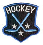 Hockey - ruhára vasalható textil matrica