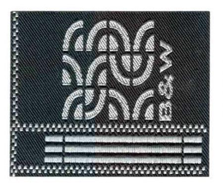 Ívek - ruhára vasalható textil matrica