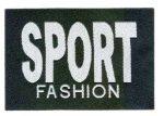 Sport fashion - ruhára vasalható textil matrica