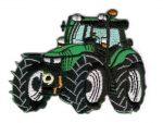 Traktor - ruhára vasalható textil matrica