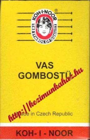Gombostű - vas - Koh - I - Noor - sárga