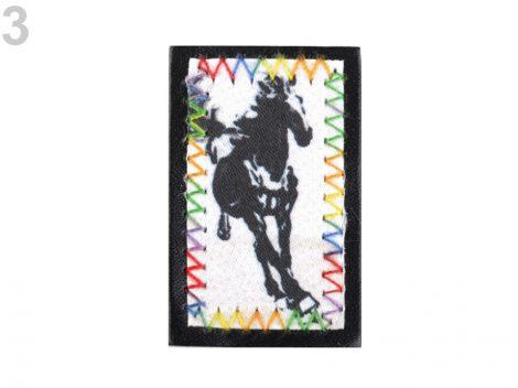 Ló- ruhára vasalható matrica