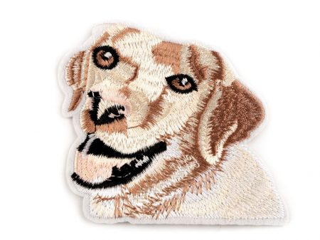Kutyus - ruhára vasalható textil matrica