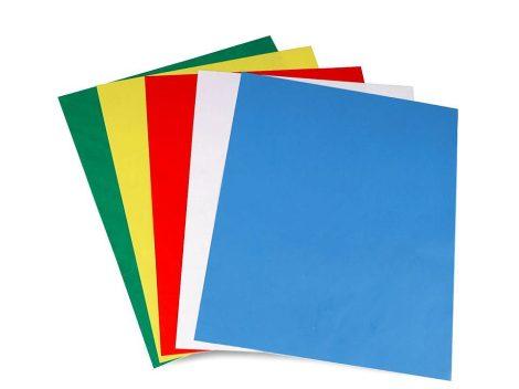 Másoló papír - színes - textiliákhoz