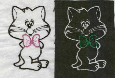 Cicus - ruhára varrható textil matrica