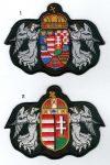 Angyalos magyar címer - ruhára varrható textil matrica
