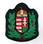 Lombos Magyarország címer - ruhára varrható textil matrica