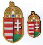 Magyarország címere - ruhára varrható textil matrica