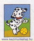 Dalmata kutyus - Vervaco előnyomott gobelin